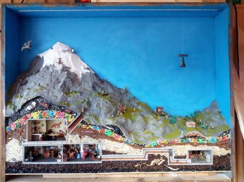 """Diorama """"Hinter den Alpen"""" 2018"""