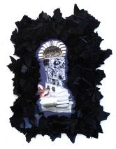 Fix it 2012, Papier, Vinyl, Holz 52 x 41 x 2 cm
