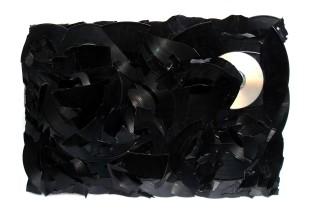 Die dunkle Seite der Nacht 2008, CD, Vinyl, Holz 39 x 60 x 3 cm