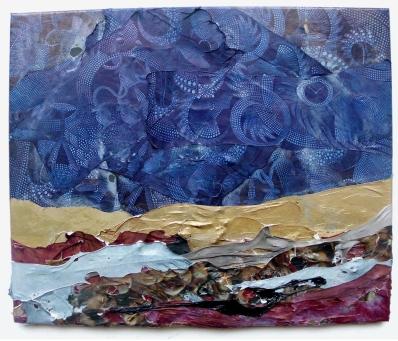 Dorado Fado 2014, Polyethylen auf Keilrahmen, 50 x 60 x 2 cm