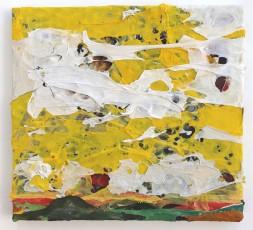 Rauhes Lüftchen 2014, Polyethylen auf Keilrahmen, 38 x 41 x 2 cm